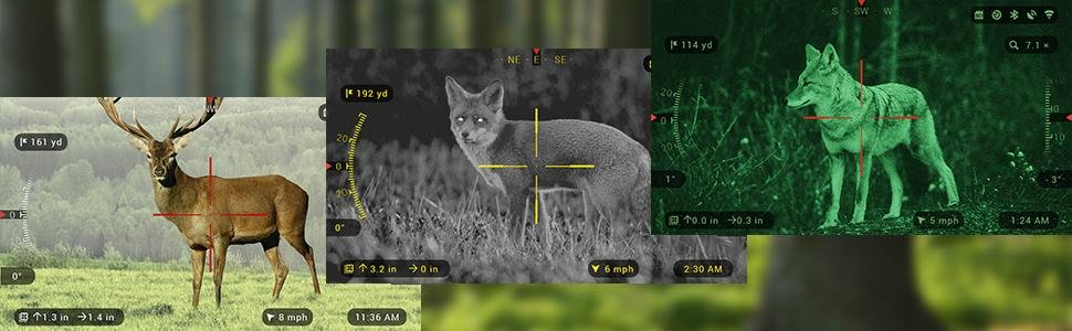 ATN X-Sight II 3-14x Rifle Scopes on Amazon.com